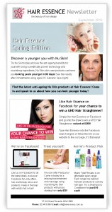 hair essence_spring newsletter_Sept12